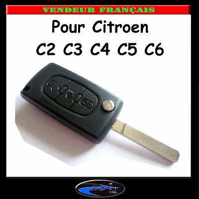 cle plip coque telecommande 3 bouton citroen c2 c3 c4 c5 c6 c8 ce0536 eur 9 45 picclick fr. Black Bedroom Furniture Sets. Home Design Ideas