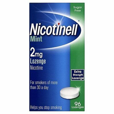 Nicotinell Lozenge Mint 2mg - 96 Lozenges