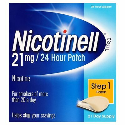 Nicotinell Nicotine Patch TTS30 21mg- Step 1 - 21 Days Supply