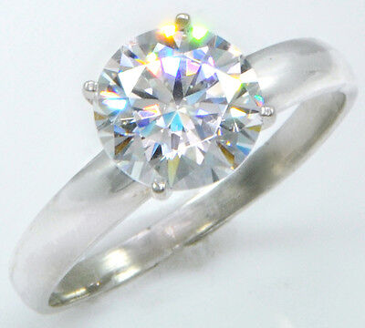 Other Fine Rings 3 Ct Extra Brilliant Ring Handmade Top Cz Imitation Moissanite Simulant 5