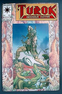 Turok DInosaur Hunter (1993) 1-4 Valiant Comics Indian