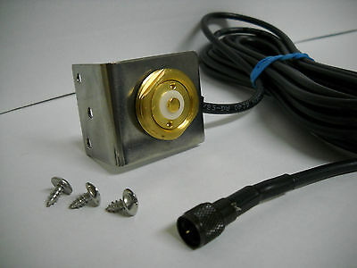 NMO MOUNT 3//4 HOLE WITH 15/' RG58A//U L-195 CABLE TNC CONNECTOR