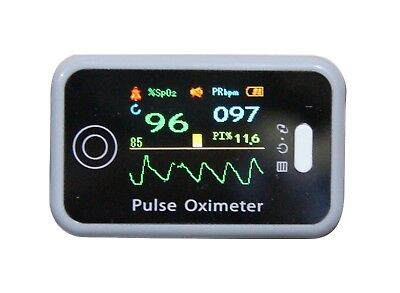 CONTEC CMS50H OLED Fingertip Pulse Oximeter,SpO2 PI Heart Rate monitor, Software
