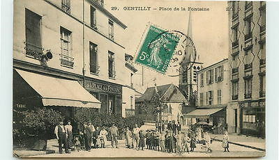94-GENTILLY-Place de la Fontaine