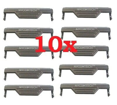 LOT OF 10 NEW DELL LATITUDE D820 D830 M65 LAPTOP HARD DRIVE CADDY COVER FF389