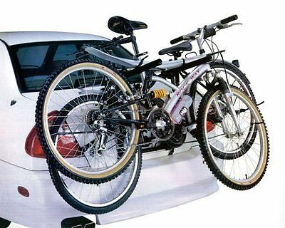 UNIVERSAL 2 BICYCLE CARRIER CAR RACK BIKE CYCLE TOWBAR