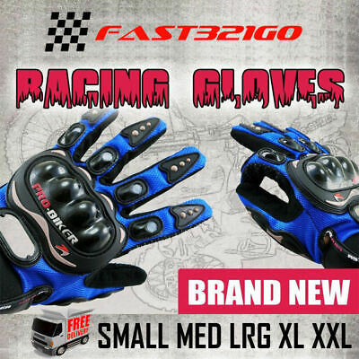 Pro Biker Full Finger Motor Bike Racing Gloves Bmx Cycling Motocross Motorbike