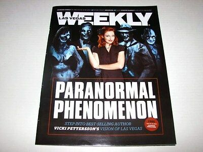 Las Vegas Weekly Magazine June 2012 Issue Vicki Petterson Zodiac / Celestial NEW