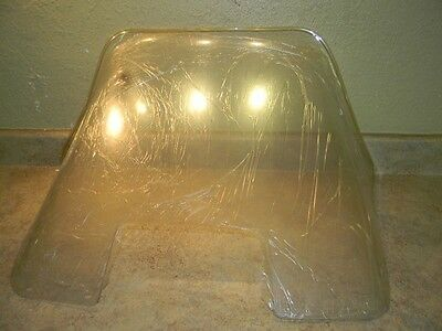 "NOS Arctic Cat Lynx 71-73 17 1/2"" Clear Windshield Sno Stuff 450-106"