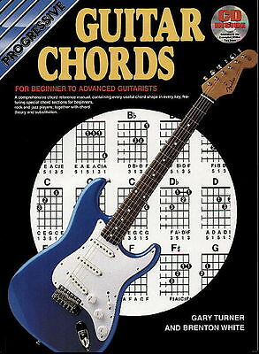 Progressive Guitar Chords Bk&CD&DVD