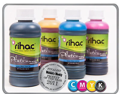 RIHAC Refill ink for CISS suits Epson 73 73N 103 cartridge T0731-T0734 T40 TX550