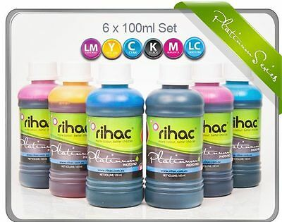 RIHAC Refill ink for CISS suits Epson T0491 T0492 T0493 T0494 T0495 T0496 carts