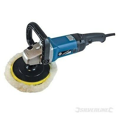 Silverline Sander Polisher Car Home Paint Buffing Variable Speed BRAND NEW !!