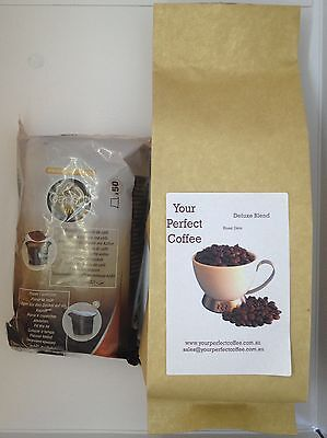 Indian Tiger Mountain Fresh Roasted Ground Coffee & Empty Nespresso Pods