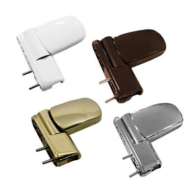 UPVC 3D Door Flag Hinge - White, Brown, Gold & Chrome - AVOCET ET3D