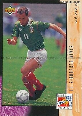 Ud29 Luis Roberto Alves - Mexico  Trading Cards Upper Deck World Cup Usa 1994