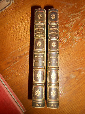 The Barnabys in America; or Adventures of the Widow Wedded. 1843. 2 of 3 volumes