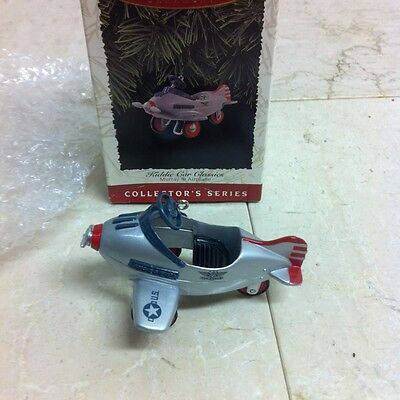 NEW 1996 Hallmark Kiddie Car Classics Murray Airplane NIB