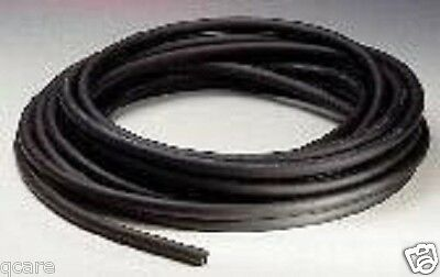 "12 ft Latex Black Enema Bag Tubing 1/4"" ID X 1/16"" w x 3/8"" OD Douche Hot Water"