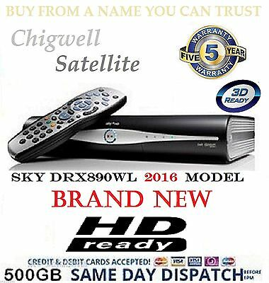 Sky Plus + Hd Box - 500Gb - Sky Amstrad Drx890Wl - On Demand - New Retail Boxed