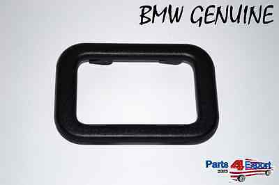 NEW BMW Inside Door Handle Covering Trim Black interior cover 51 21 1 876 043