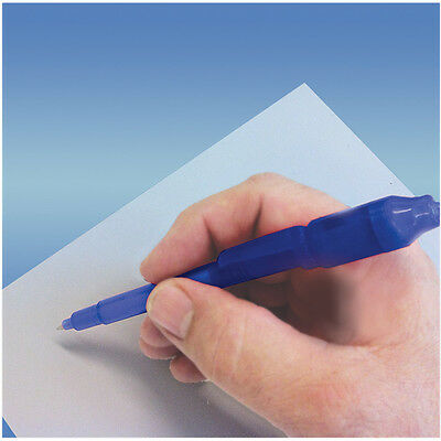 Quality Blue Secret Message & Security Fake Bank Note Checker Pen with UV Light