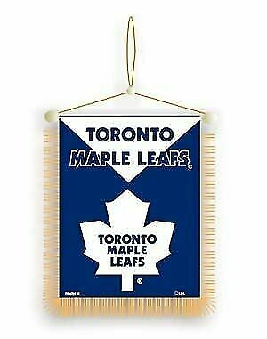 Toronto Maple Leafs 2-sided Mini Banner / Mirror Dangler NHL Hockey