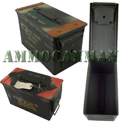 12 CANS  Grade 2  50 cal empty ammo cans 12 Total  FREE SHIPPING
