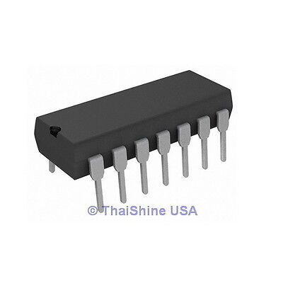 5 x CD4066 4066 IC CMOS QUAD BILATERAL SWITCH - TEXAS - USA Seller - Free Ship