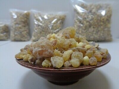 Premium FRANKINCENSE Resin Gum Olibanum Tears Aromatic Incense - Choose Size