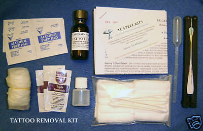 All Inclusive Tattoo Removal Remover 100% Acid Kit