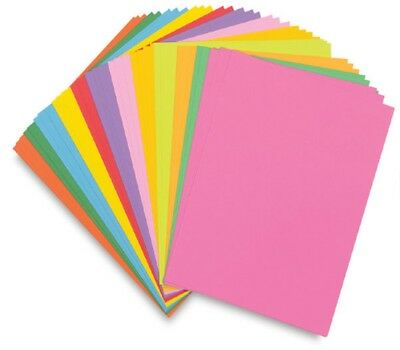 A4 Paper Sheets - 80gsm Arts & Craft Paper - SELECT A COLOUR