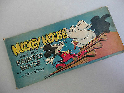 Disney WDP Comic Book Mickey Mouse Haunted House W4 Cheerios Cereal Premium 1947