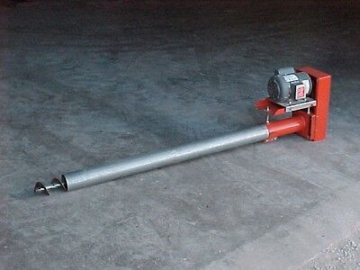 Six Inch Bulk Tank Auger 12' long Jet Flow