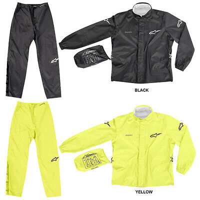 Impermeable Alpinestars Quick Seal Out Jacket & Pants All-Weather Riding Touring