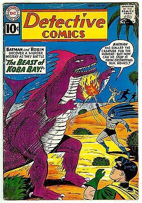DETECTIVE COMICS #297 (1961 fn 6.0) guide value in this grade: $66.00 (£43.00)