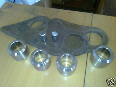 JCB 802 and 803 Bucket conversion bracket set