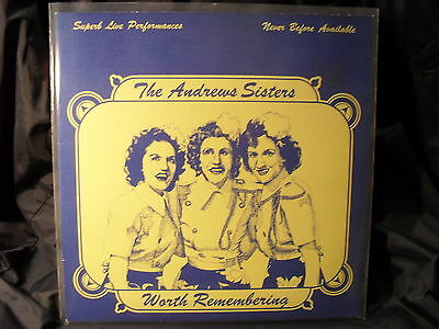 The Andrew Sisters - Worth Remembering