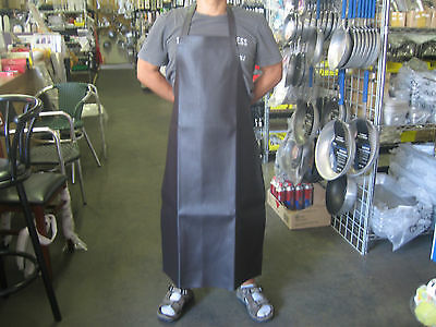 Update APV-2641HD Vinyl Bib Apron Brown Large Water Proof Aprons 26x41 NEW!