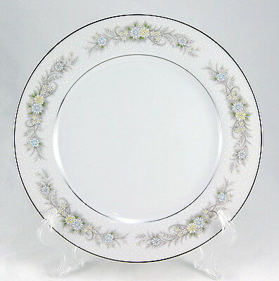 Ambiance Collection LA PETITE FLEUR 3380-013 Dinner Plate 10.25 in. Floral White