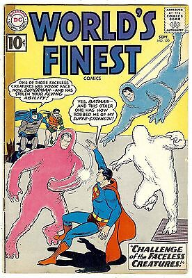 World's Finest #120 (1961 fn/vf 7.0) guide value in this grade: $57.50 (£42.00)