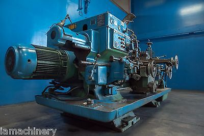 "18"" Swing x 32"" Center Warner & Swasey W&S 1A 3500 Metal Turning Turret Lathe"