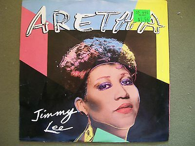 Aretha Franklin Jimmy Lee And If You Need My Love Tonight 45 Record And Sleeve