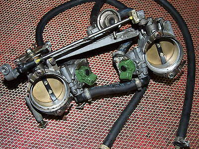 Ducati Monster S4 Throttle bodies with fuel injectors