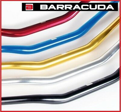 Manubrio 28 Barracuda Ergal Sezione Variabile Nero Ducati Hypermotard 1100