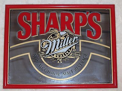 BRIGHT SHARP's MILLER Non-Alcoholic PICTURE 13 by 17
