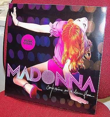 MADONNA - Confessions of the DANCE FLOOR - 2 LP VINYL ROSA RARO! SIGILLATO MINT!