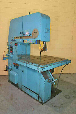 "36"" Throat Tannewitz Metal Cutting Vertical Bandsaw MDL3600MH 7.5HP"