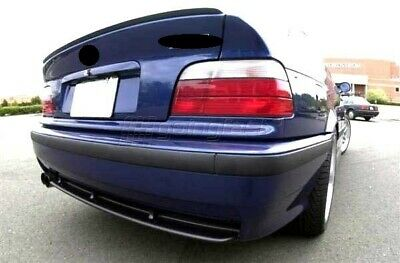 BMW E36 3 Series Coupe Rear Boot Trunk Spoiler Lip Wing Sport Trim Lid M3 M Tech
