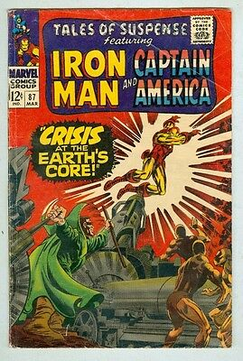 Tales of Suspense #87 March 1967 VG